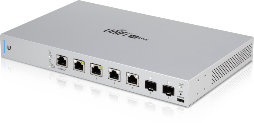 UniFi Switch 6 XG Front Top Angle