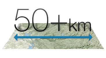 Long-Range Links: 50+ km