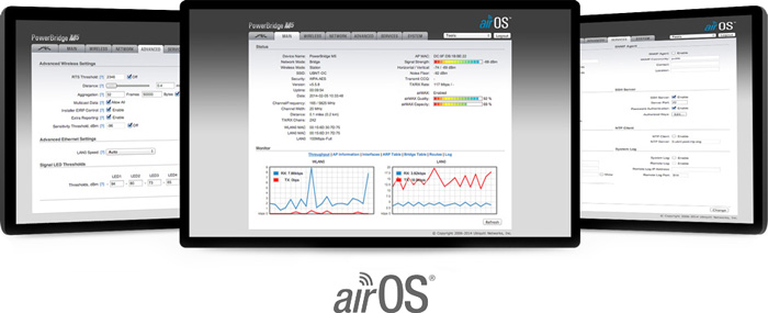 Powerful airOS Features